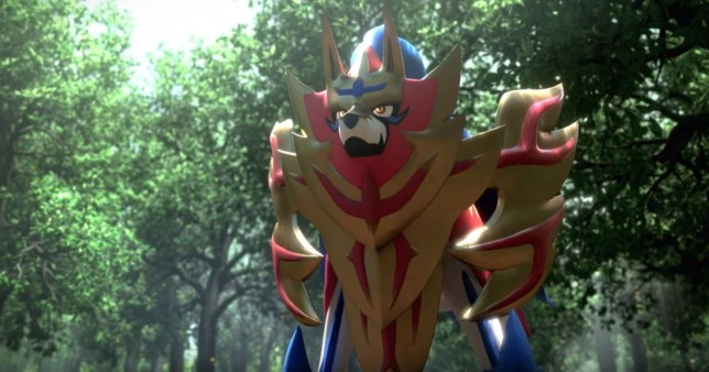Zamementa in Pokemon Sword & Shield
