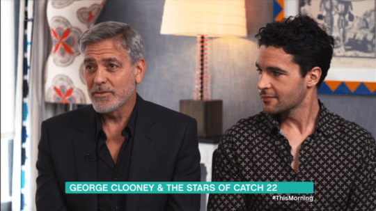 George Clooney on This Morning