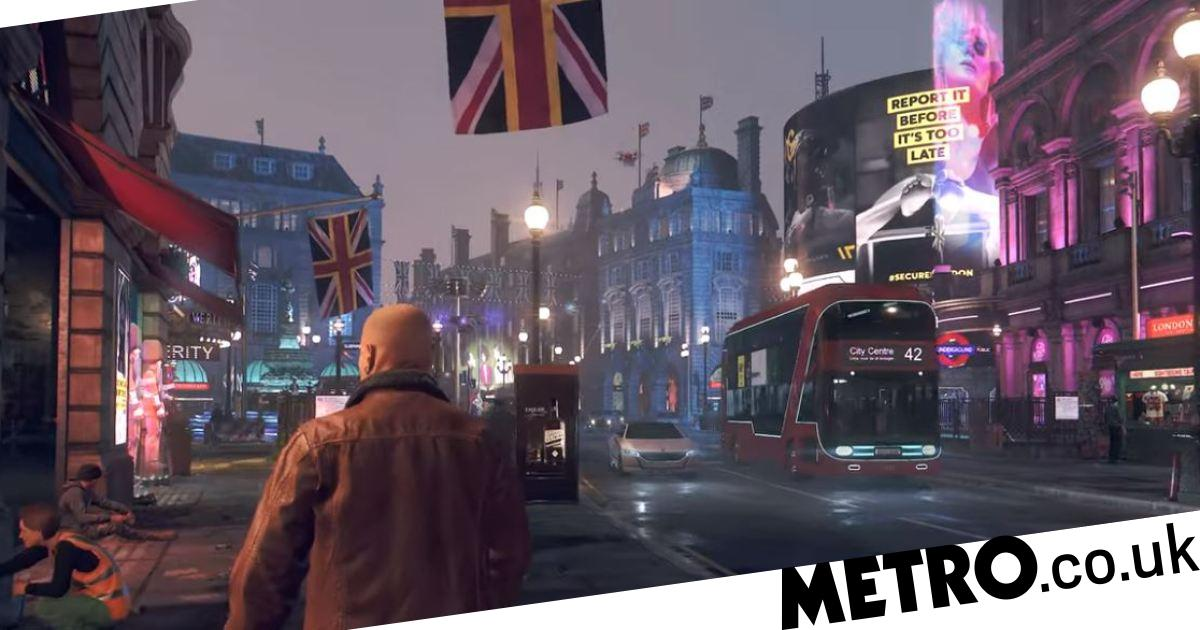 Watch Dogs Legion Trailer Shows Off Futuristic London Confirms 2020 Release Date Metro News