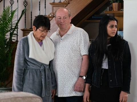 Coronation Street spoilers: Geoff Metcalfe caught abusing Yasmeen Nazir?