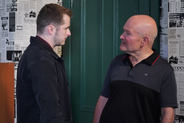 Jonno confronts Ben in EastEnders