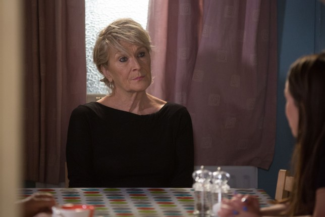 Shirley wants answers in EastEnders