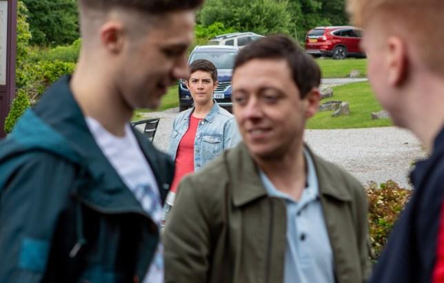 Matty's friends worry Victoria in Emmerdale