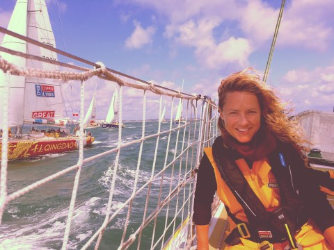 3,500 calories a day, tiny bunks, bruises and sea sickness: What it takes to train for a round-the-world sailing race