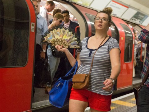 Wear less and carry a fan to stay cool on public transport in heatwave