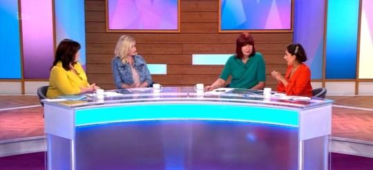 Love island Amy Hart on Loose Women
