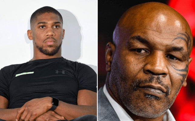Mike Tyson urged Anthony Joshua to get his head straight (Picture: Getty)