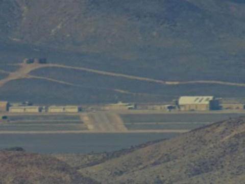 UFO hunters photograph Area 51 in unprecedented detail as millions join alien hunt