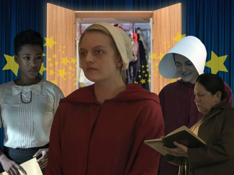 Back Into The Closet: From the meaning behind the widows' purple dresses to Kylie Jenner's 'not well thought out party', all the costume secrets from The Handmaid's Tale