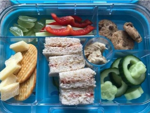 Mum baffled by school who sent home son's 'unhealthy' lunch box
