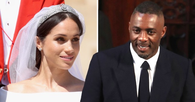 Meghan Markle Wedding Pictures.Idris Elba Reveals Meghan Markle Gave Him A Setlist At Her Wedding