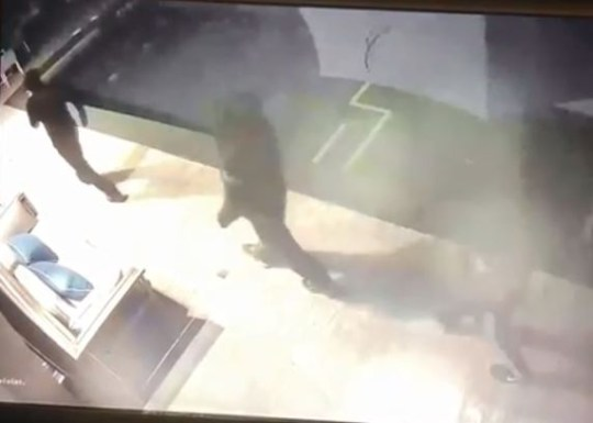 Three thieves were captured on video breaking into Daniel Sturridge's LA home (Instagram)