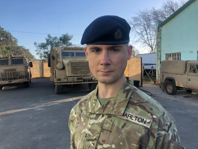 Danny-Boy Hatchard joins the cast of Our Girl