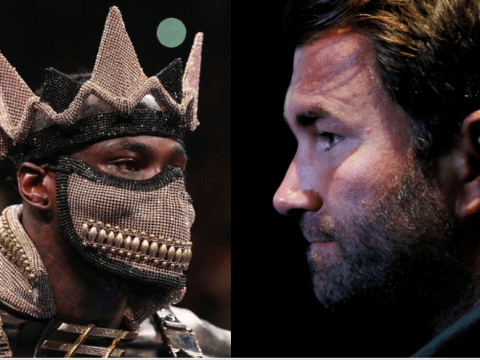Eddie Hearn dismisses Deontay Wilder's scathing attacking on Dillian Whyte