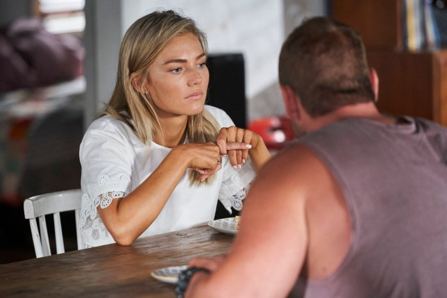 Jasmine is played by Sam Frost