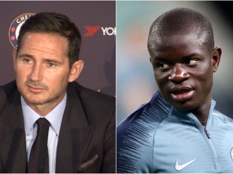 Frank Lampard claims he has a plan for N'Golo Kante at Chelsea