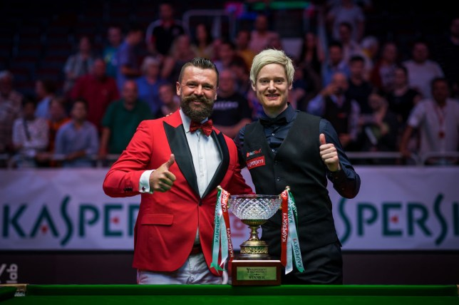 Neil Robertson won the Riga Masters in 2018