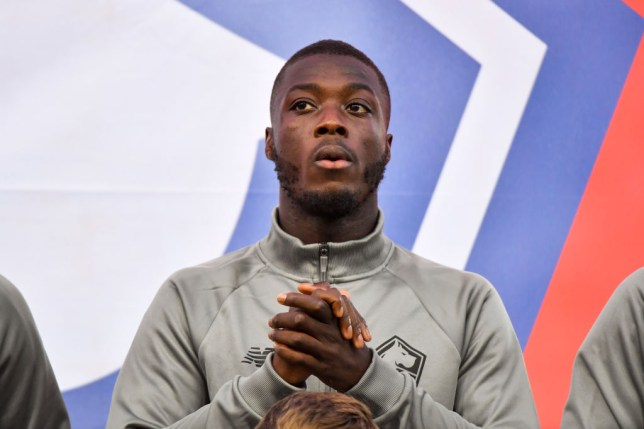 Arsenal confirm £72m club-record signing of Nicolas Pepe from Lille