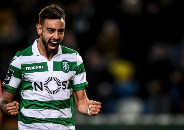 Manchester United have been eyeing a £50m move for Sporting star Bruno Fernandes