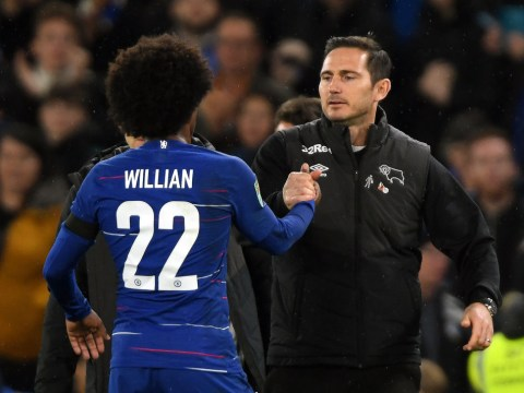 Frank Lampard hits back at Willian over Eden Hazard squad number claim