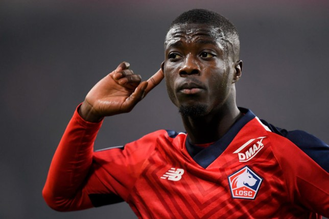 Nicolas Pepe is expected to leave Lille this summer