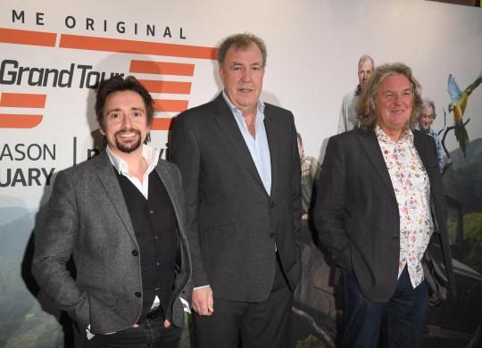 Jeremy Clarkson, Richard Hammond, James May, The Grand Tour