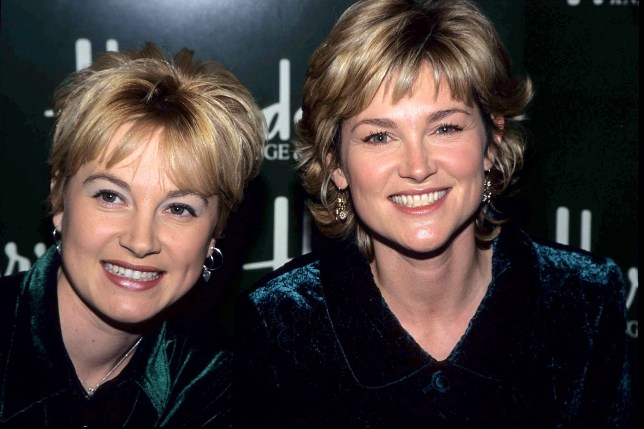 Anthea Turner and Wendy Turner