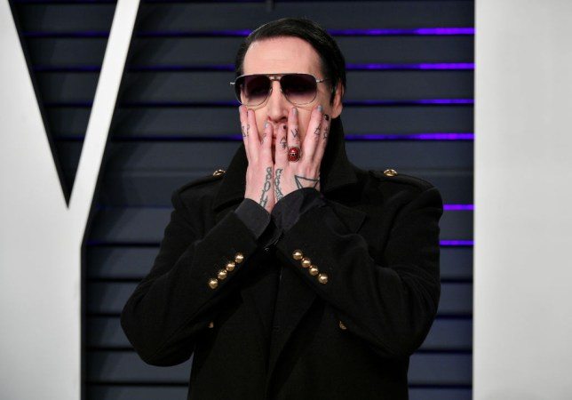 Marilyn Manson is shocked to have been cast in Stephen King's The Stand (Picture: Dia Dipasupil/Getty Images)