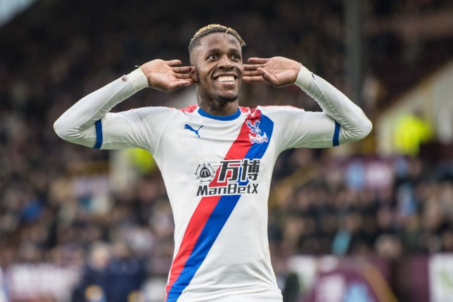 Wilfried Zaha is one of Arsenal's top transfer targets