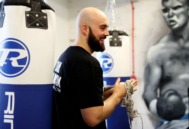 Nathan Gorman trained with Daniel Dubois at Team GB