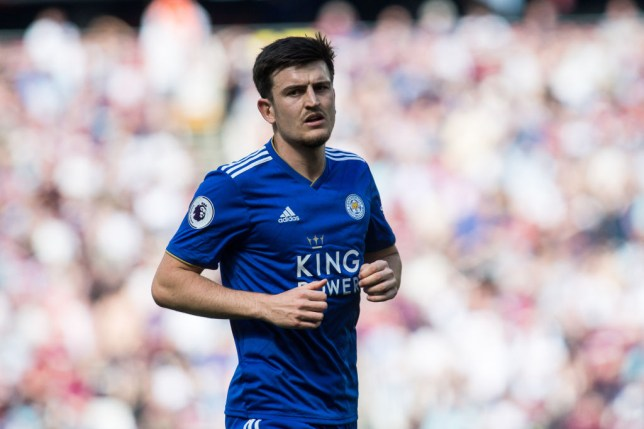 Harry Maguire is keen on a move to Manchester United (Picture: Getty)