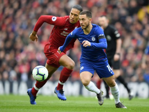 Eden Hazard explains how he had 'no chance' against Liverpool's Virgil van Dijk