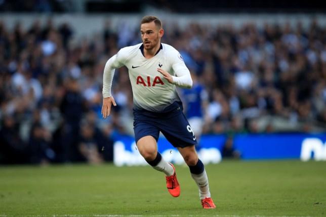 Vincent Janssen in action for Spurs at the Tottenham Hotspur Stadium