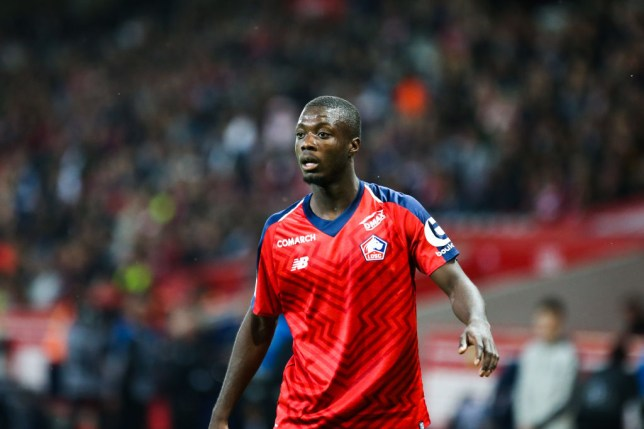 Nicolas Pepe is set for a £73m transfer move from Lille to Arsenal