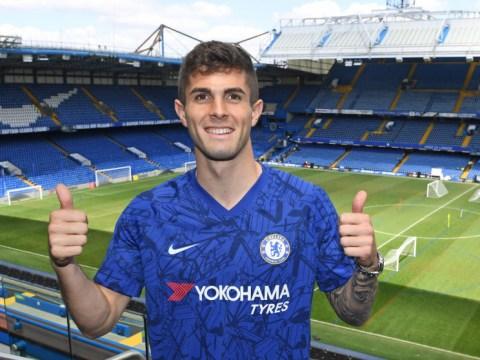 Eden Hazard rates his Chelsea successor Christian Pulisic