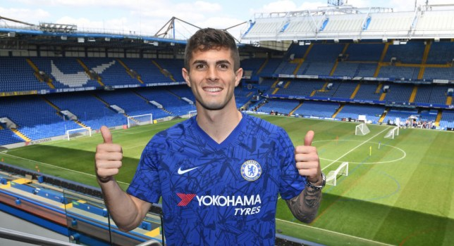 Christian Pulisic signed for Chelsea from Borussia Dortmund