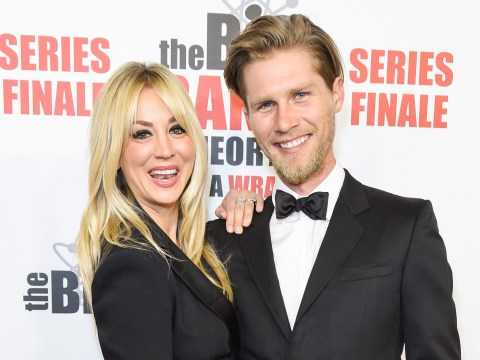 Big Bang Theory's Kaley Cuoco and husband Karl Cook 'love' living apart a year after wedding