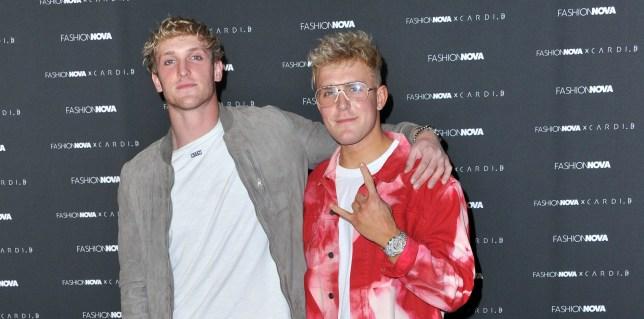YouTubers Jake and Logan Paul