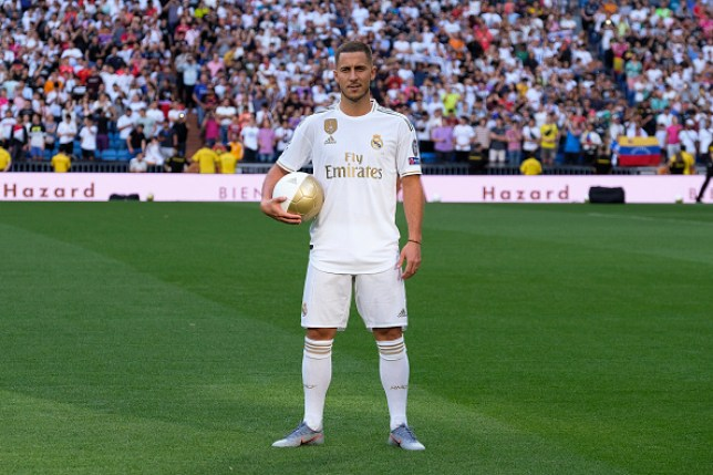 online retailer f6bf6 0a681 Eden Hazard requests to wear David Beckham's old number 23 ...