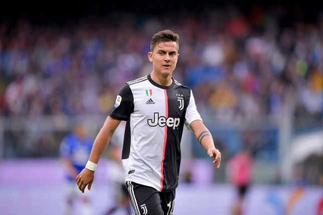 PPaulo Dybala could be used as a makeweight in a deal that would see him swap clubs with Man Utd's Romelu Lukaku