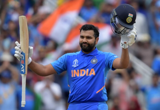 Rohit Sharma scored his fourth century of the 2019 World Cup