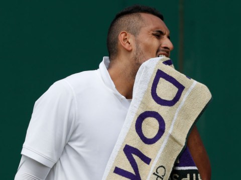 Nick Kyrgios sets up potential Wimbledon clash with Rafael Nadal after eventful opening round win