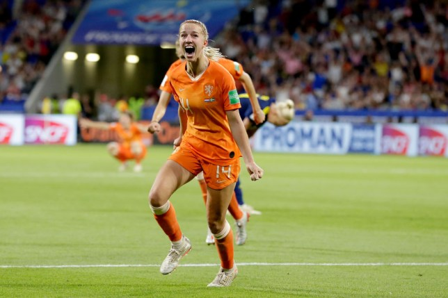 Jackie Groenen's strike was the difference