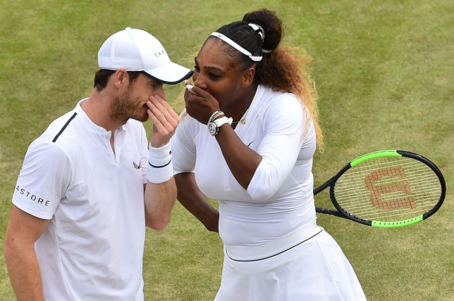 Serena Williams and Andy Murray speak out Wimbledon mixed doubles defeat