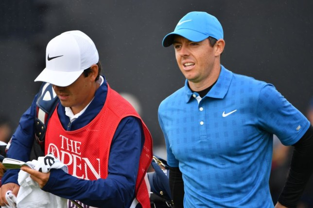 Rory McIlroy carded a quadruble bogey on the opening hole at Royal Port Rush