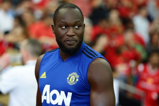 Romelu Lukaku hasn't feature for Manchester United during their pre-season campaign