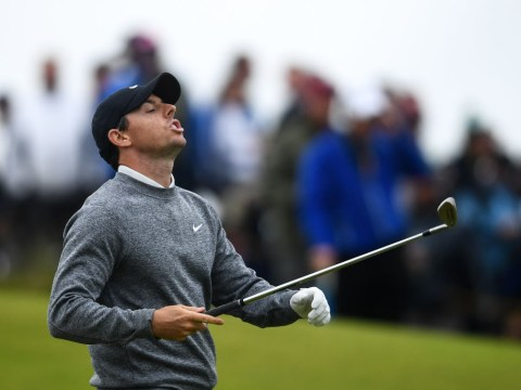 Rory McIlroy fights back tears as he admits missing the cut at The Open is 'going to hurt'
