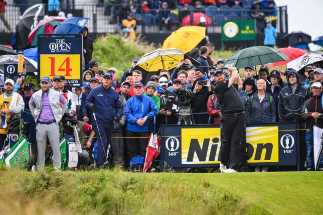 Royal Portrush bad weather