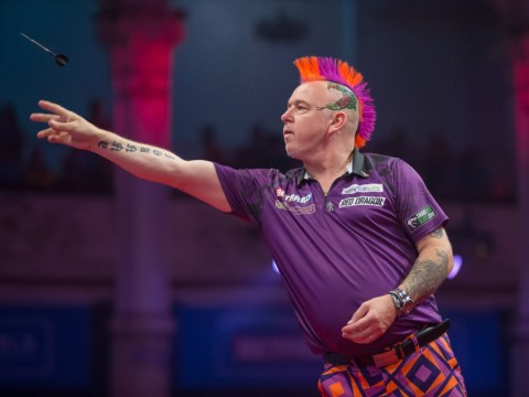 Peter Wright says he is the man to beat at the World Matchplay Darts after dominant first round win