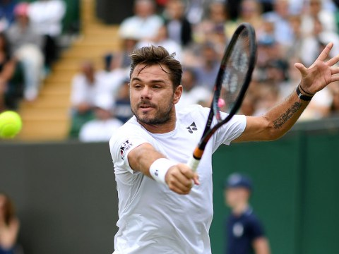 Stan Wawrinka reacts to Wimbledon exit at the hands of American giant Reilly Opelka